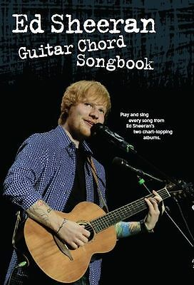 The Best Of Ed Sheeran. Guitar Chord Songbook Sheet Music Book A Team Sing Learn