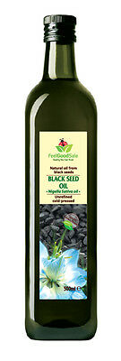 Raw Cumin Seed Oil Pure Cold Pressed (Black Seed) 500ml 250ml Free Fast Delivery