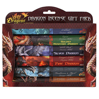 Age of Dragons Incense Gift Pack - Anne Stokes - Incense Sticks - FREE UK P&P