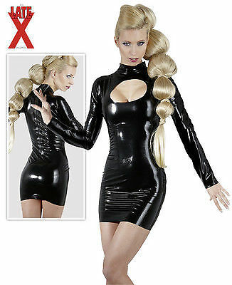 Robe Latex Decolleté Fetiche Dress
