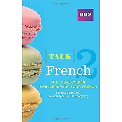 Talk French 2 Improve Your French Book/ Cd  Audio Course Brand New Sealed