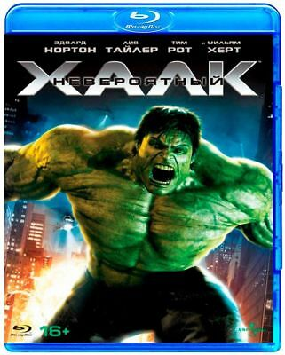 *NEW* The Incredible Hulk (Blu-ray) Eng,Russian,Cze,Hun,Pol,Por,Spa,Thai