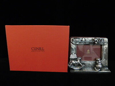 Cunill Orfebres Plata De Rey Sterling Silver Baby Frame New Box Hobby Horse Cat