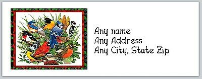 30 Personalized Return Address Labels Christmas Buy 3 get 1 free (ac 264)