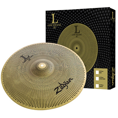 "Zildjian L80 Low Volume 20"" Ride Drum Cymbal - Perfect for Practice"