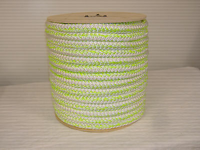 "12 carrier 24 strand Polyester 1""x200 feet arborist rigging tree bull rope"