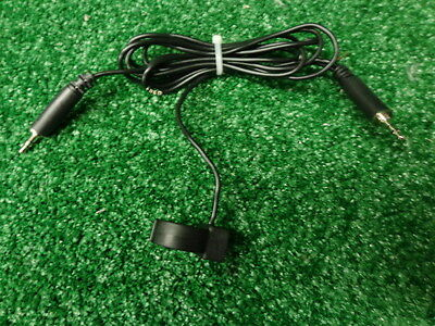 Motorola XTS series Commport NKN6512A Radio Head set extension cable w/Ring PTT