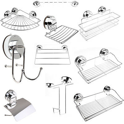 Stailess Steel | Super Suction | Wall Mounted Bathroom Accessories