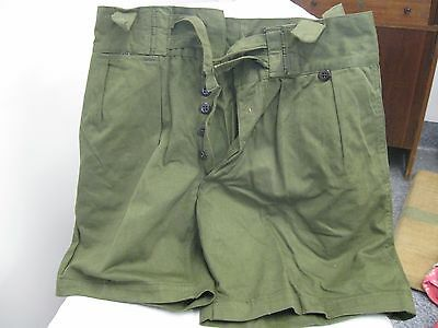 Army Shorts Olive Drab size 35 -  Pair