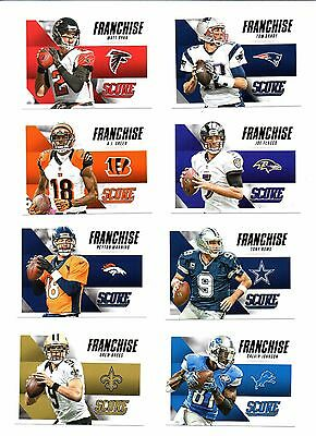 2015 Panini Score, Franchise, Football Cards !!
