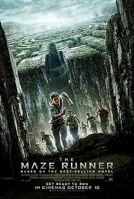 The Maze Runner Movie Poster - Different Sizes - Price Includes Uk Post - (1)