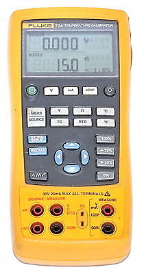 Fluke 724 Portable Temperature Calibrator  *Calibrated (NATA Trace)*