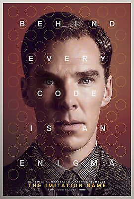 The Imitation Game Movie Poster - Various Sizes - Price Includes Uk Post