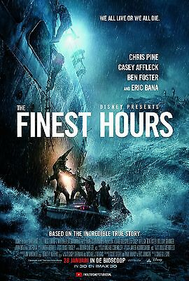 The Finest Hours Movie Poster - Various Sizes - Price Includes Uk Post - (1)
