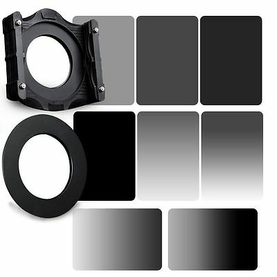 Zomei 150*100mm Gradient + full color ND2,4,8,16+Holder + 67mm ring for Cokin Z