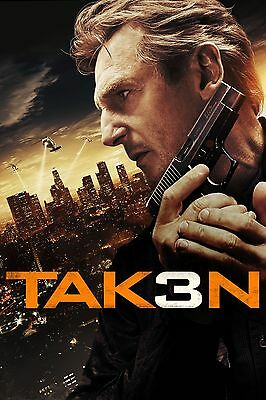 Taken Movie Poster - Various Sizes - Price Includes Uk Post - (1) Liam