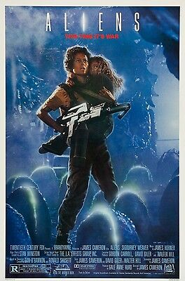 Aliens Movie Poster - Various Sizes - Price Includes Uk Post - (1)