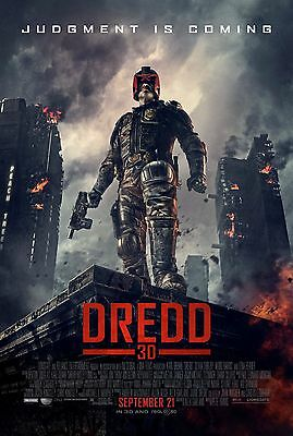 Dredd Movie Poster - Various Sizes - Price Includes Uk Post - (1) Sc-Fi