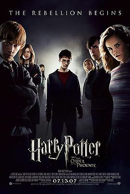 Harry Potter Movie Poster - Various Sizes - Price Includes Uk Post - (1)