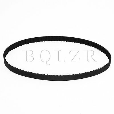 Black 190XL Rubber Imperial Timing Belt 95 Teeth Geared Motor 10mm Wide