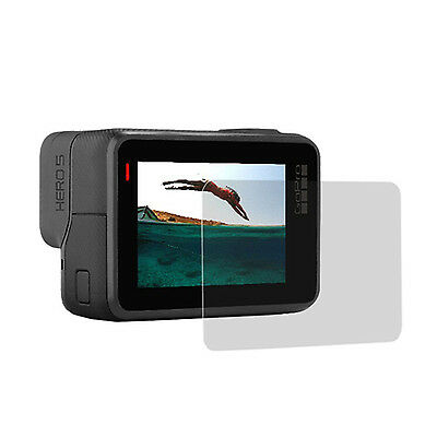 2 x Tempered Glass LCD Screen Protective Film For GoPro Hero 5 Camera Protector