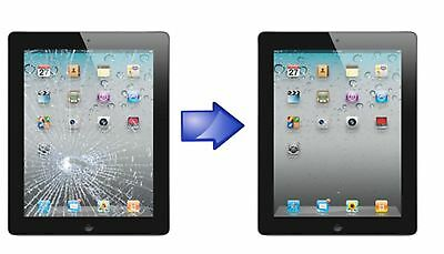Apple iPad 3 4 Cracked Touch Screen Digitizer Replacement Service