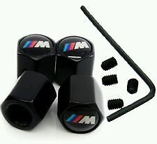 4 Bouchons De Valves - Bmw Serie M Motorsport Performance / Antivol