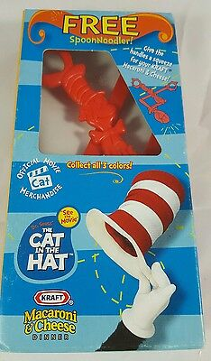 Dr Seuss The Cat In The Hat Spoon Noodler Kraft Macaroni & Cheese Red In Box