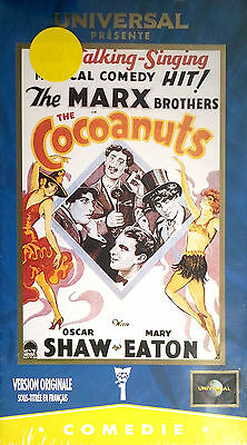K7 Vhs Cocoanuts The Marx Brothers Neuf   /016