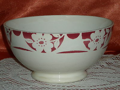 Ancien Grand Bol En Faience Digoin France