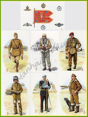 100 Artist Signed British Military postcards inc. L/E cards only £15 WW Shipping