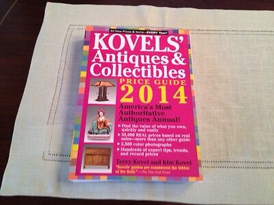 Kovel's Antiques And Collectibles Price Guide 2014