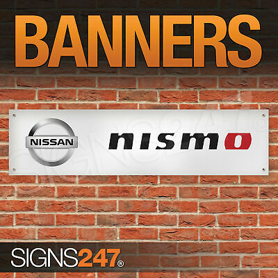 NISSAN NISMO BANNER Motorsport Workshop Garage Japanese Car Show - Car show banners