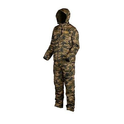 Prologic Bank Bound Camo Suit Waterproof Stash Suit All Sizes Carp Fishing
