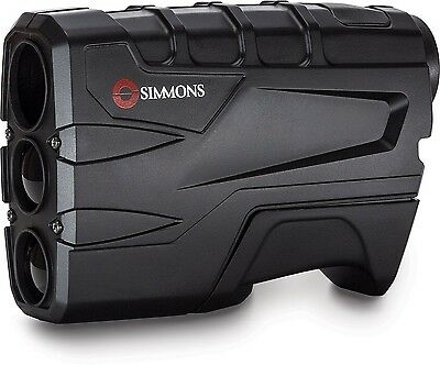 New Simmons SIM801600 Rangefinder Volt 600 4x20mm Black 10-600 Yards Performance