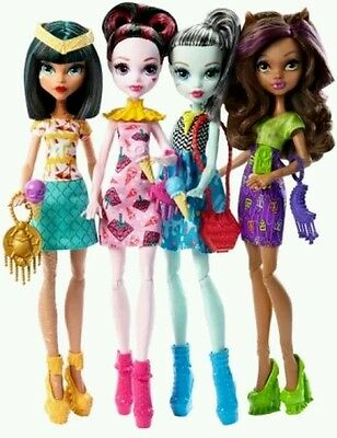 Monster High Ice Scream Ghouls Exclusive 4 Doll Set
