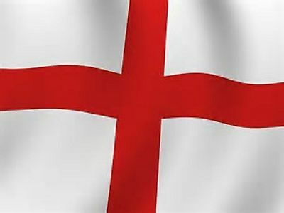 St Georges Cross ENGLANDS FLAG ENGLISH FLAG ALL WEATHER BANNER