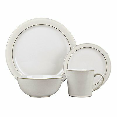 Denby Natural Canvas 16 Piece Tableware Set, NEW, BOXED, RRP £192