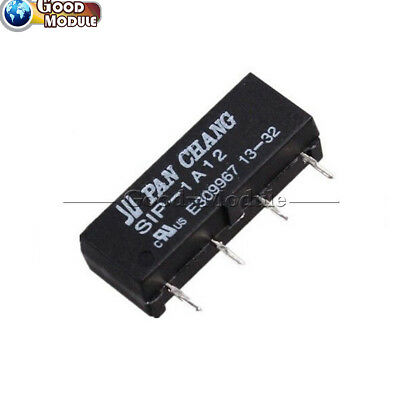 12V Relay SIP-1A12 Reed Switch Relay 4PIN for PAN CHANG Relay TOP