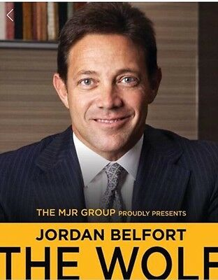 VIP Meet & Greet With Jordan Belfort, SOLD OUT EVENT!! London This Monday! ROW C
