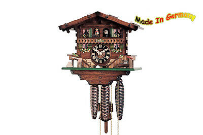 Mech. Cuckoo Clock - 1-day - Movement M. Music - 22cm - Standard Edition - 13