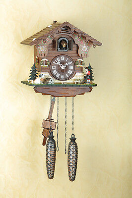 Beautiful Cuckoo Clock, Black Forest, Wall Clock, Handpainted, Cuckoo Clock 423Q