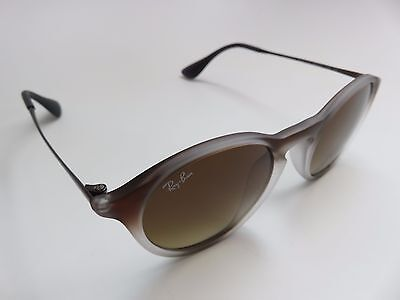 ee088bc539 AUTHENTIC RAY-BAN RB 4243-F Gradient Brown Lenses Sunglasses 6224 13 ...
