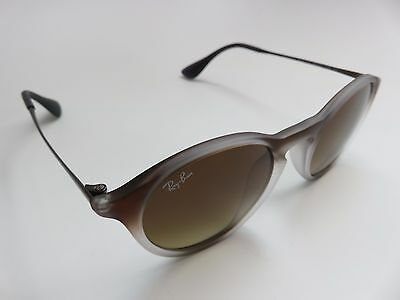 ae49988b0d8 AUTHENTIC RAY-BAN RB 4243-F Gradient Brown Lenses Sunglasses 6224 13 ...