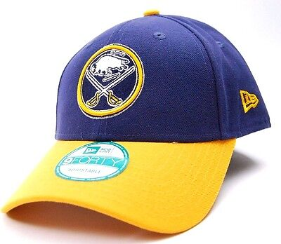 sports shoes 42178 75ae8 ... spain buffalo sabres new era 9forty league two tone nhl hockey  adjustable cap hat osfm d4bdc