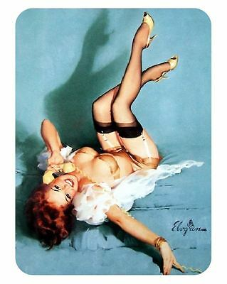 Vintage Style Pin Up Girl Sticker P83 Pinup Girl Sticker