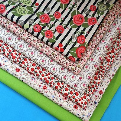 £1 LAWN Fabric Quilt Sewing 140cm Wide 100% Cotton Craft Dressmaking FQ