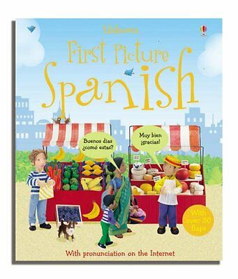 Felicity Brooks,First Picture Spanish (First Picture Language Books),0746074948