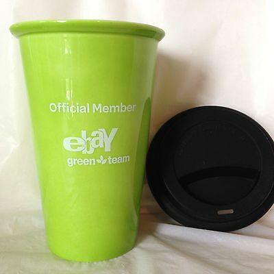 Green Team Ceramic Mug Cup Tumbler eBayana Official Member eBay on Location