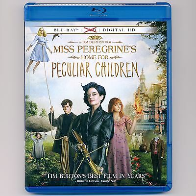 Miss Peregrine's Home For Peculiar Children 2016 PG-13 movie new Blu-ray, NO DVD